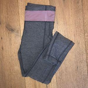 Lululemon size 6, perfect condition grey leggings